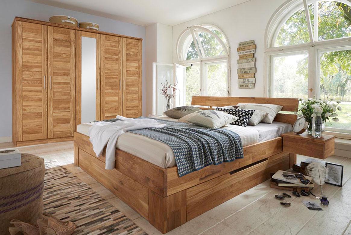 massivholz schlafzimmer nxt echtholz weildeiche ge lt s03. Black Bedroom Furniture Sets. Home Design Ideas