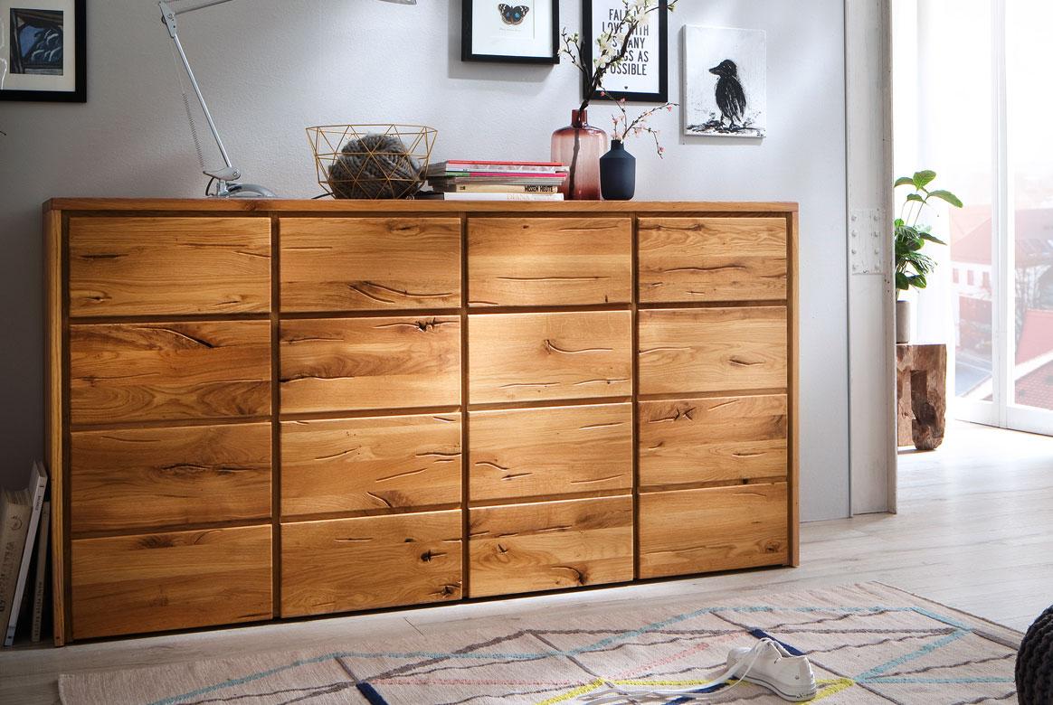 Sideboard Massivholz ildeiche Rödvig | T47