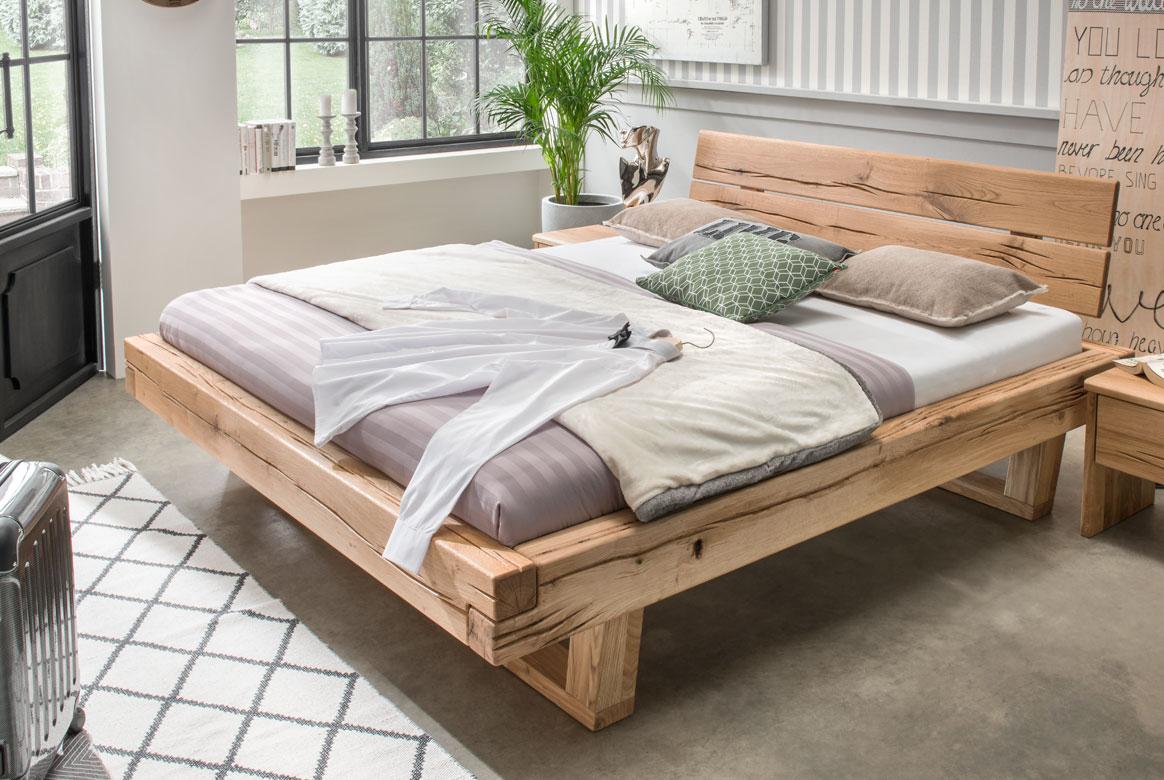 Bettgestell Fichte Massivholz Bett Unika | A02
