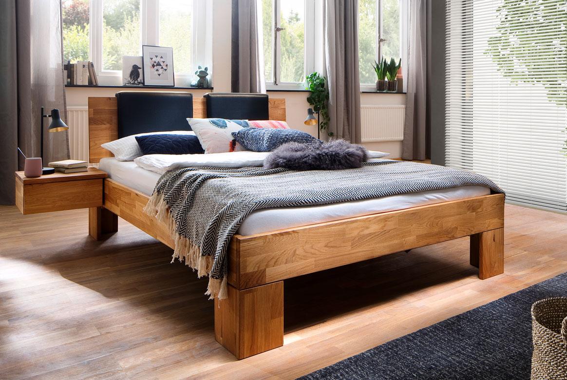 Abbildung Massivholz Bett Zent - Modset
