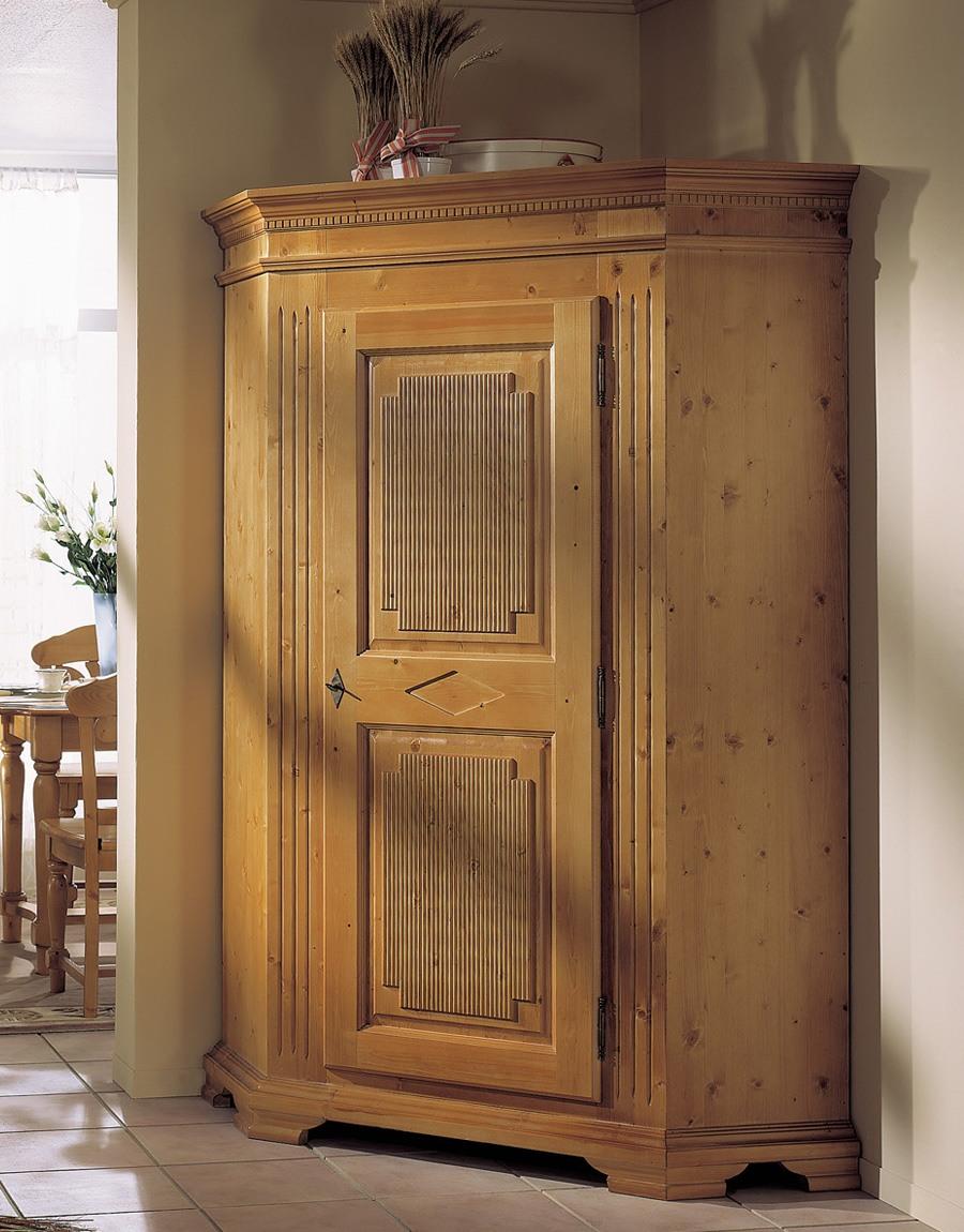 Eckschrank landhausstil genova fichte massivholz t99 for Eckschrank wei landhaus