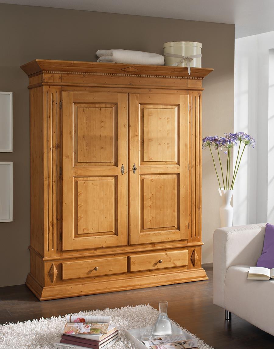 dielenschrank landhausstil isabella fichte massivholz t12. Black Bedroom Furniture Sets. Home Design Ideas
