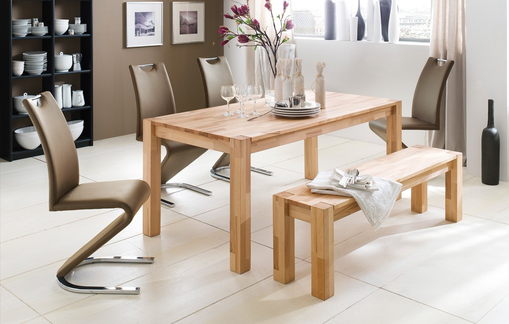 esstisch landhausstil massivholz ausziehbar kernbuche o wildeiche peter kb1 ebay. Black Bedroom Furniture Sets. Home Design Ideas
