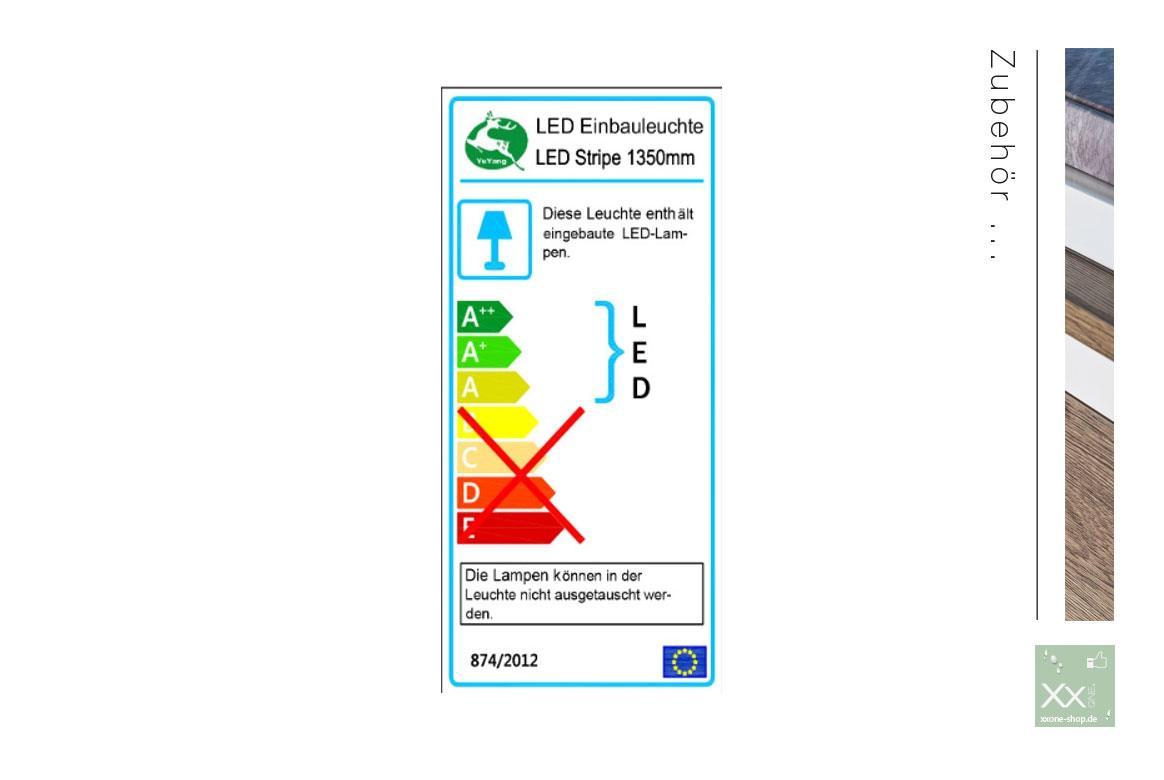 MCA Beleuchung Energieeffiziensklasse A.