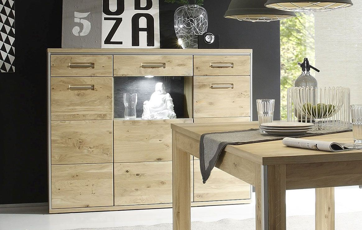 Highboard massiv Espero T05.