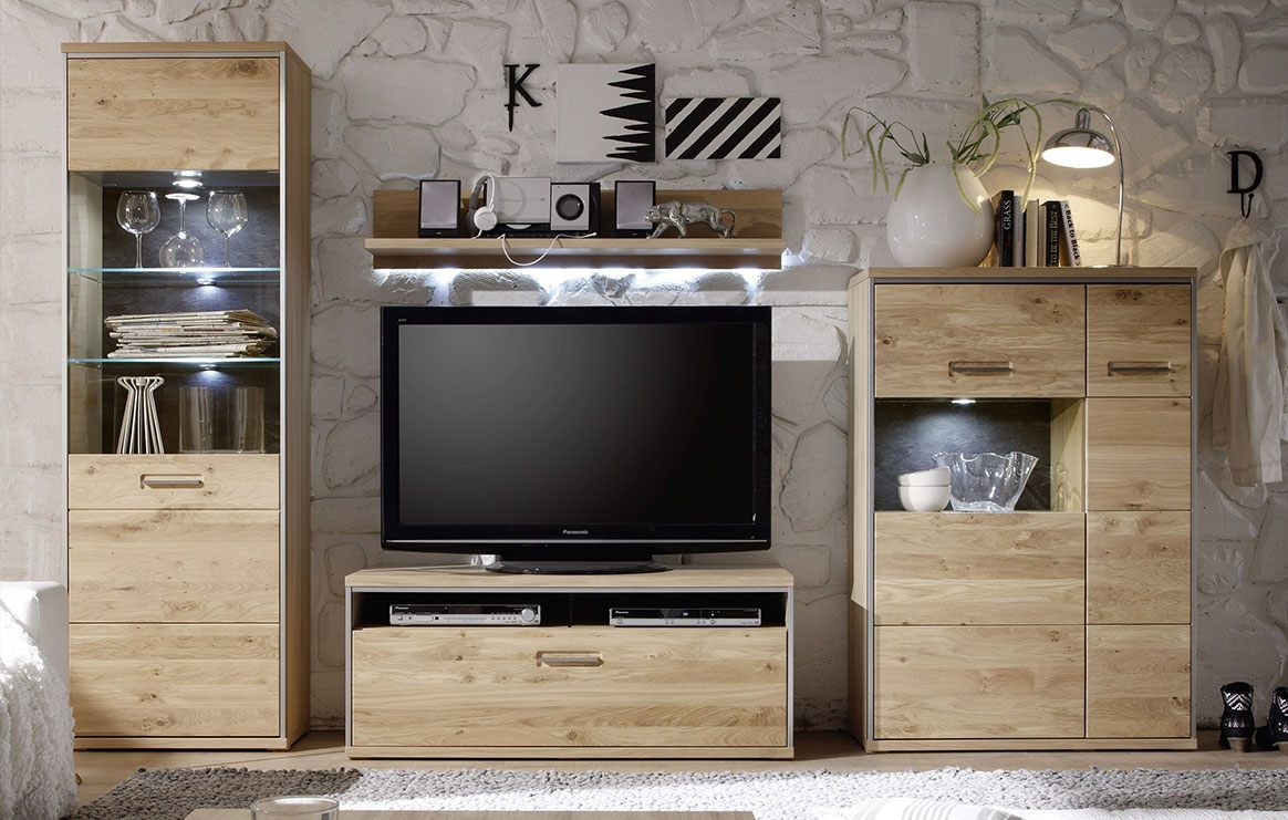 Highboard massiv Espero T24.
