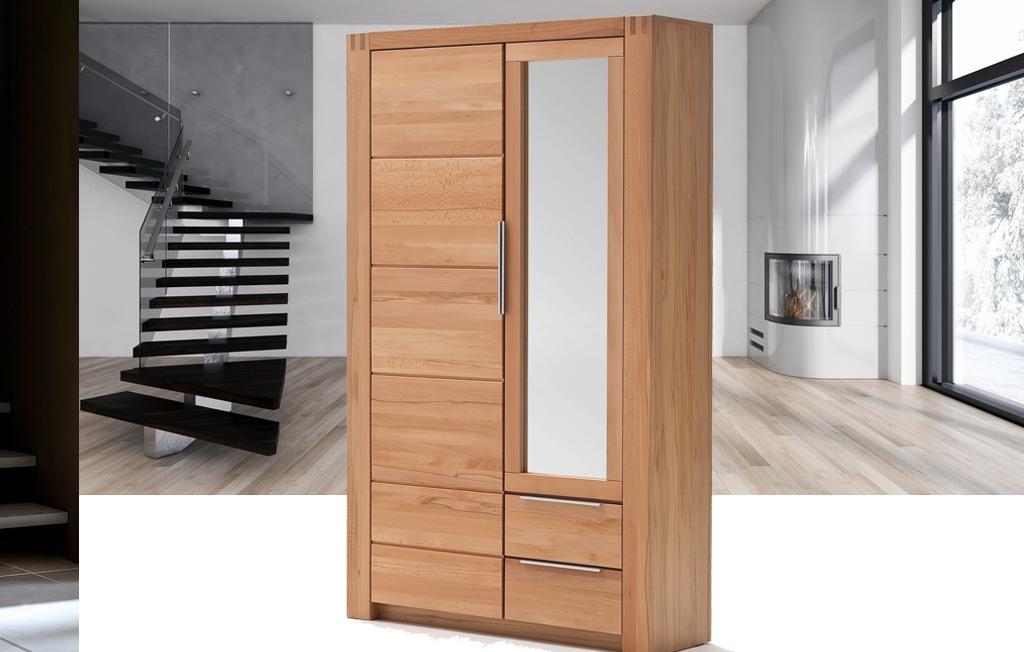 kleiderschrank dielenschrank kernbuche giant kernbuche teilmassiv t84 ebay. Black Bedroom Furniture Sets. Home Design Ideas