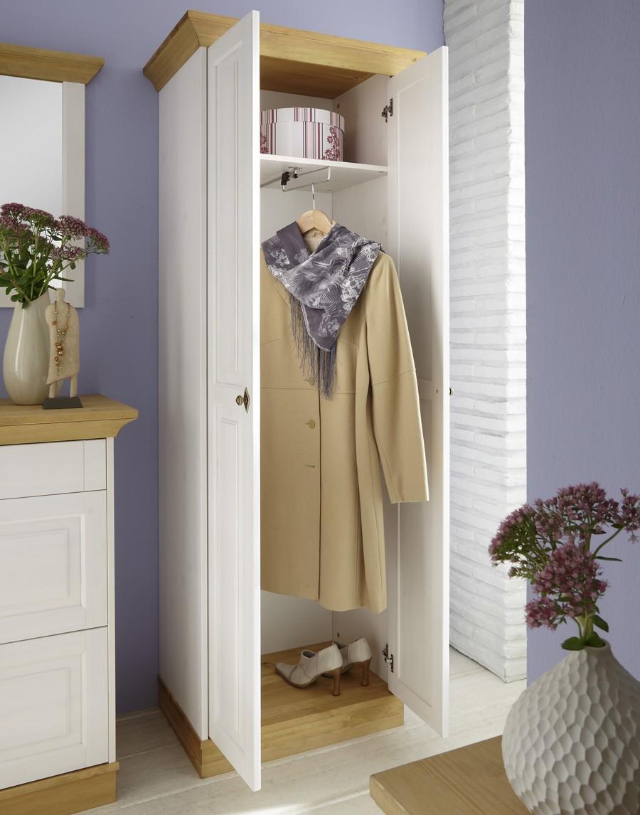 dielenschrank landhausstil linea massivholz kiefer t02. Black Bedroom Furniture Sets. Home Design Ideas