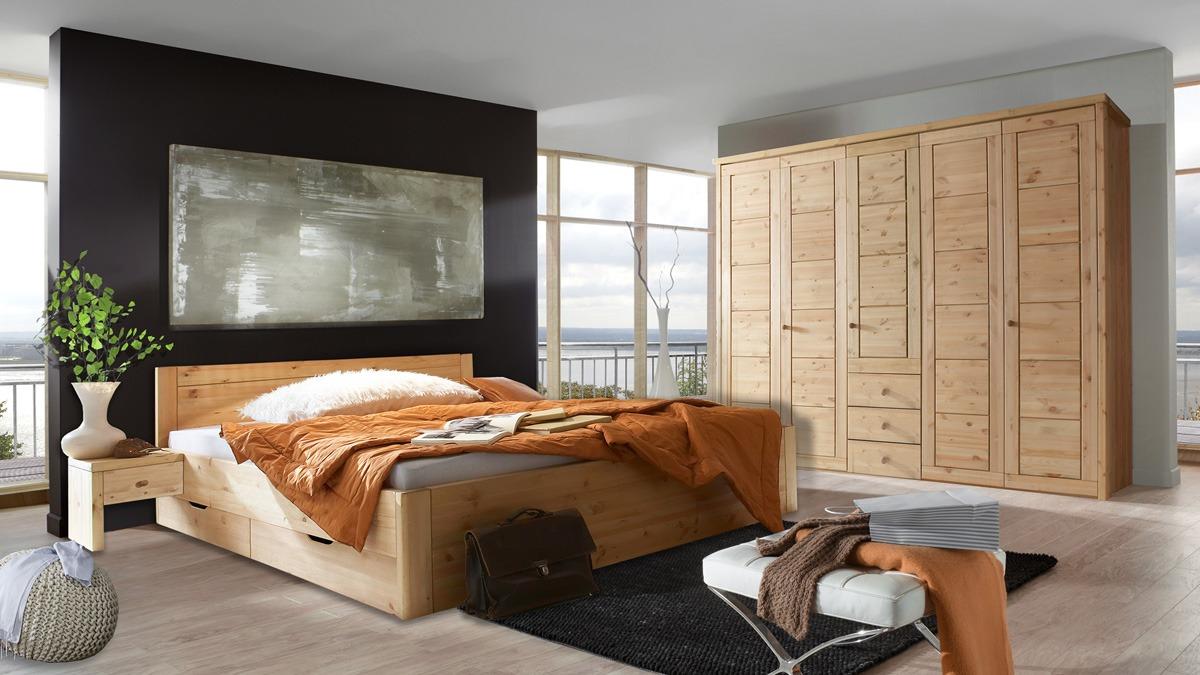 schlafzimmer massivholz rauna echtholz schlafzimmer