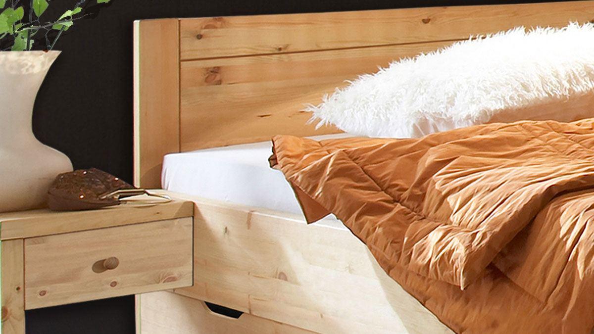 Massivholz Bett in der XL-Ausführung
