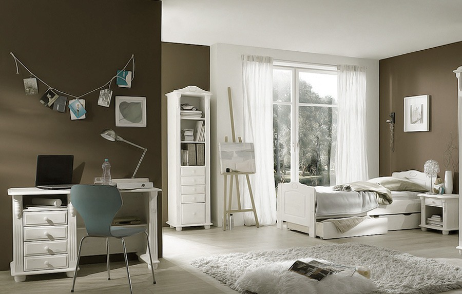 landhausstil kinderzimmer weiss romantik kiefer massivholz k02. Black Bedroom Furniture Sets. Home Design Ideas