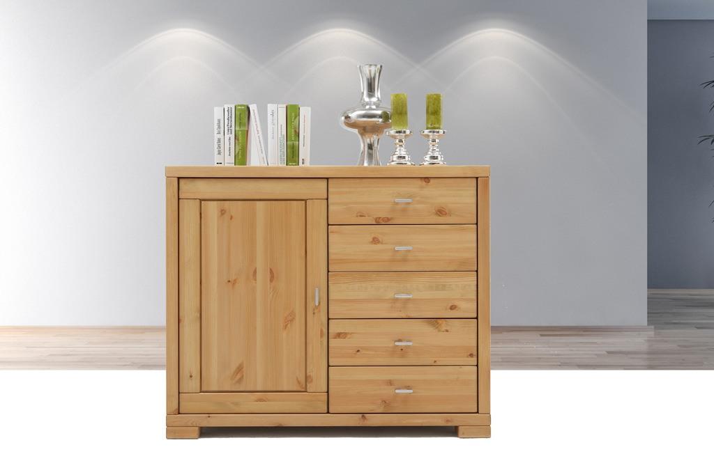 kommode landhausstil rauna vita kiefer massivholz t03. Black Bedroom Furniture Sets. Home Design Ideas