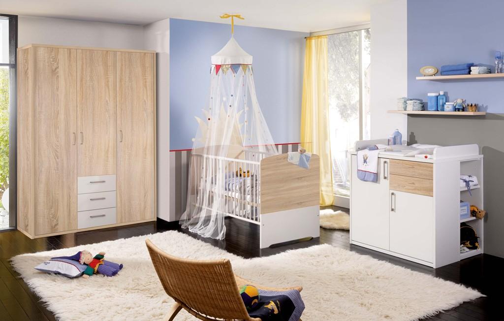 babyzimmer komplett weis babyzimmer komplett teilig luna. Black Bedroom Furniture Sets. Home Design Ideas