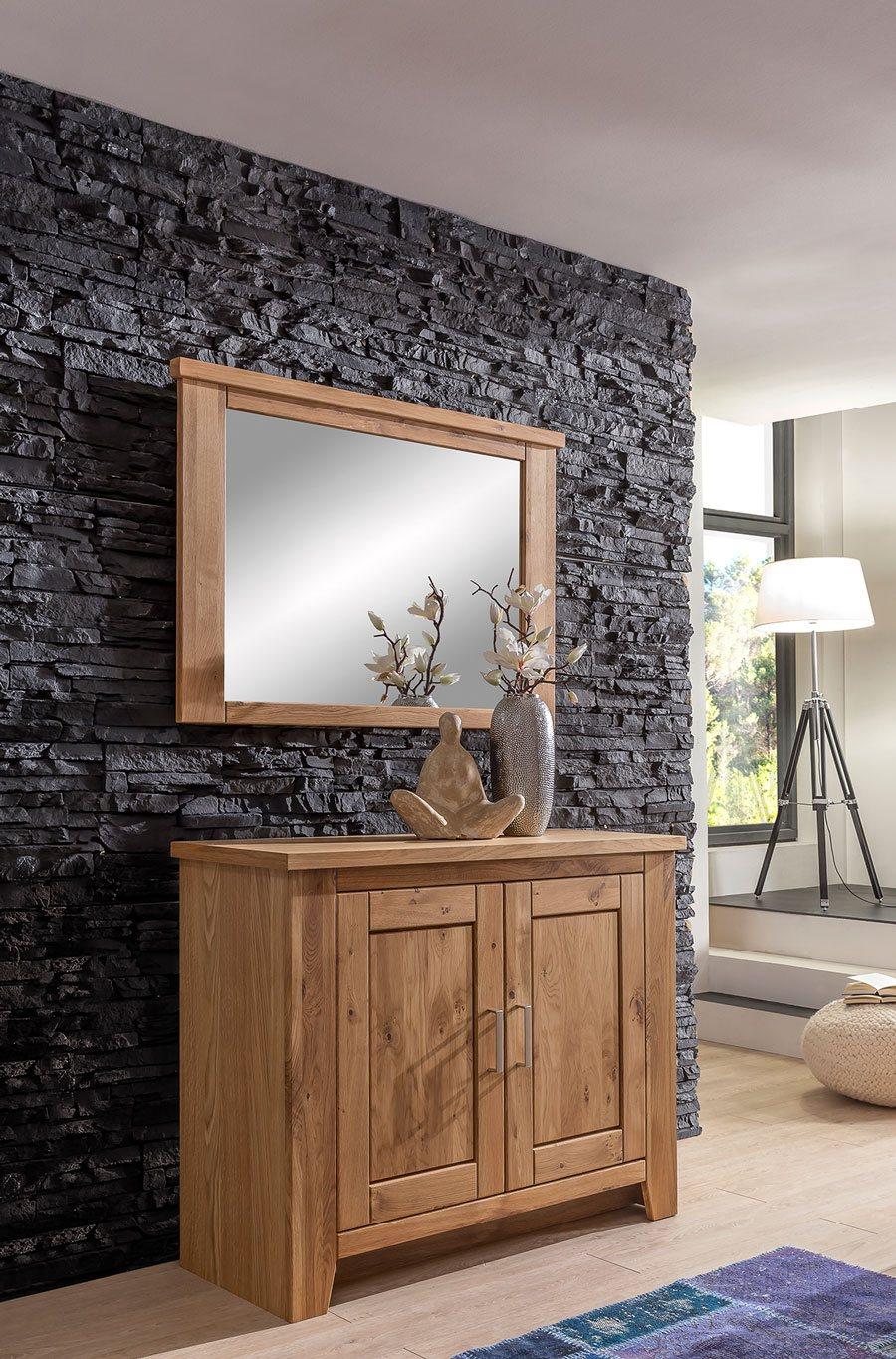 Schlafzimmer Kommode Asteiche Bianco Toronto MMI Möbel