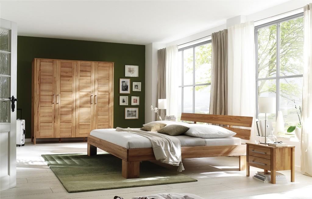 Massivholz Schlafzimmer ohne Schuhbkästen Zenna