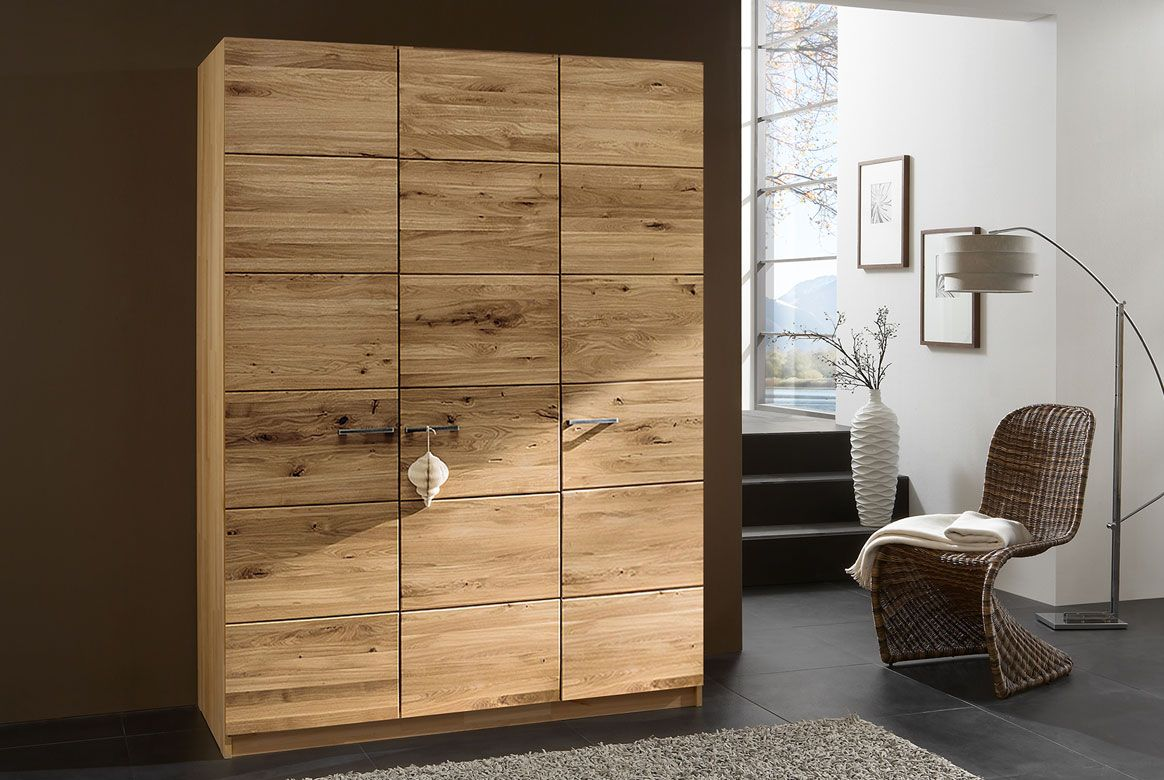 kleiderschrank massivholz front f wildeiche massiv ge lt fr6. Black Bedroom Furniture Sets. Home Design Ideas