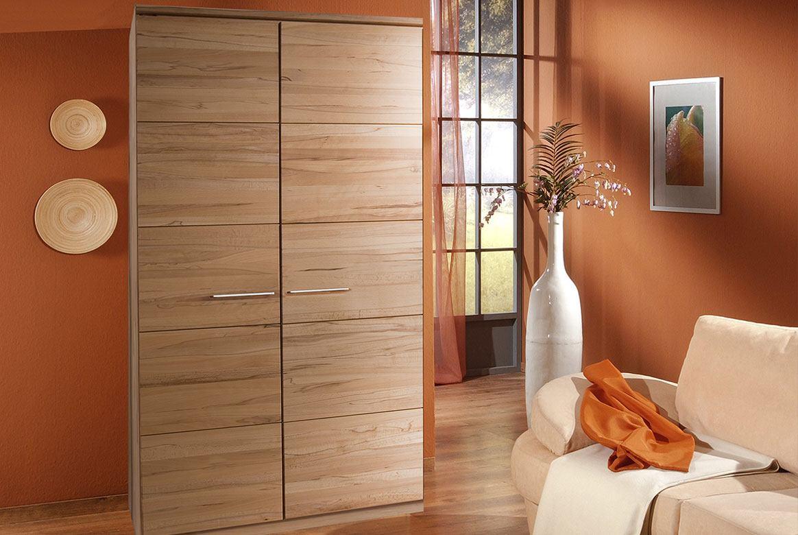 kleiderschrank massivholz front 6 buche kernbuche. Black Bedroom Furniture Sets. Home Design Ideas