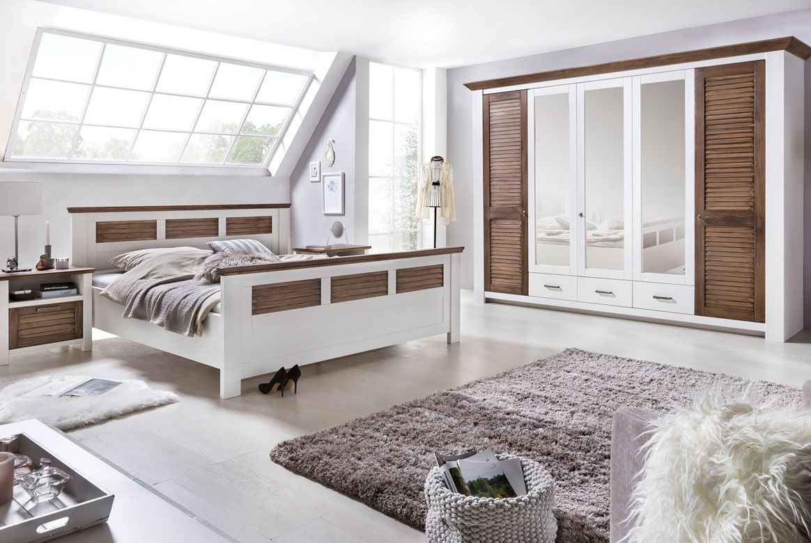 schlafzimmer landhausstil laguna kiefer teilmassiv p05. Black Bedroom Furniture Sets. Home Design Ideas