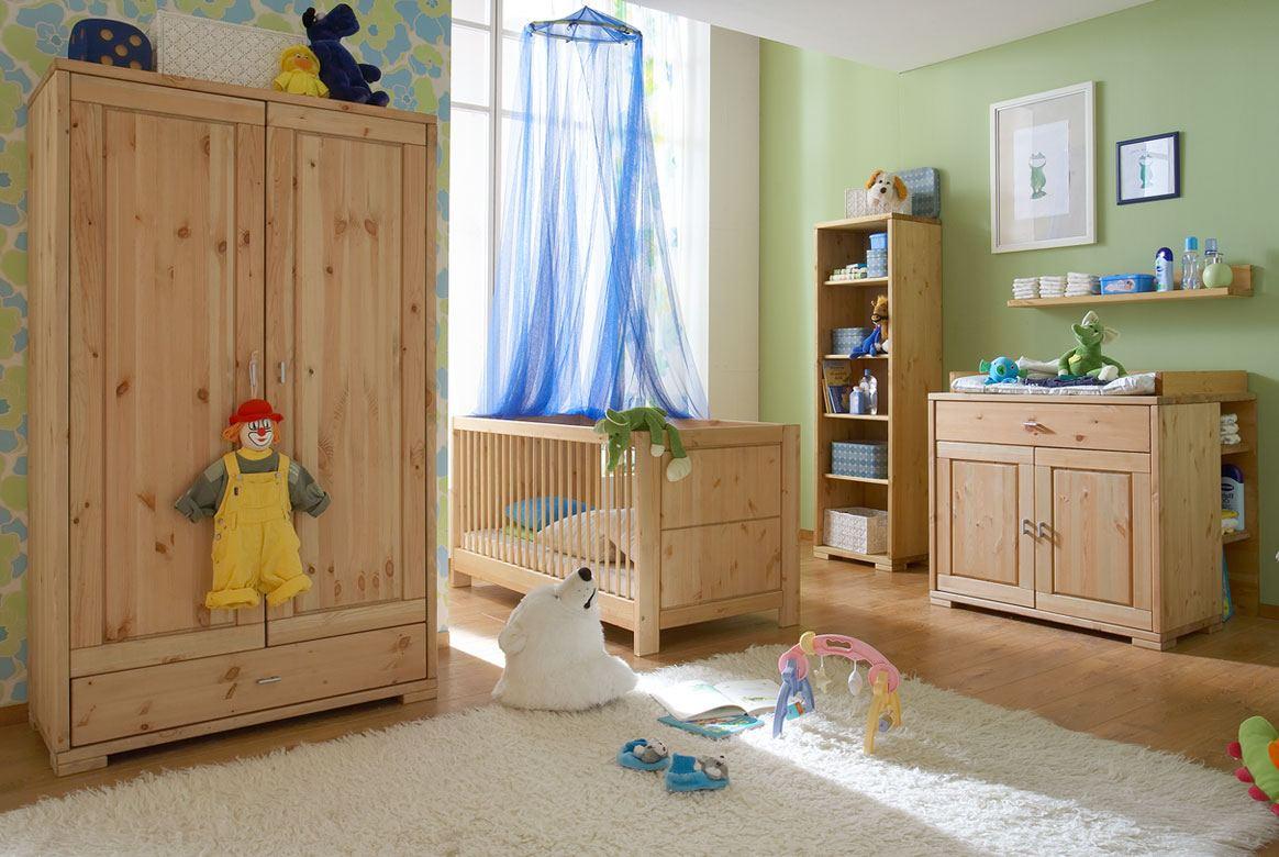 Abbildung Babyzimmer Massivholz Kiefer geölt Goldberg | B04