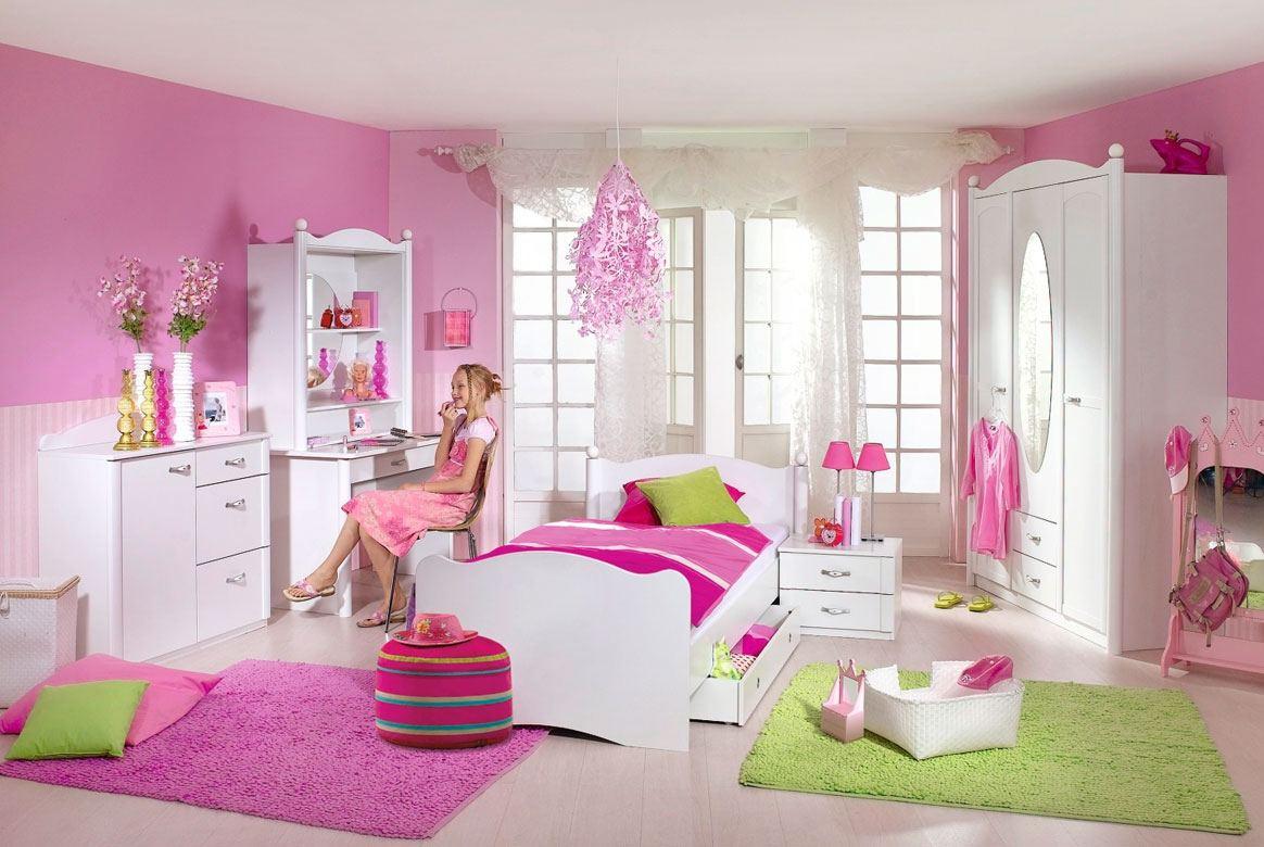 Abbildung Babyzimmer modern weiss Lilly | W01
