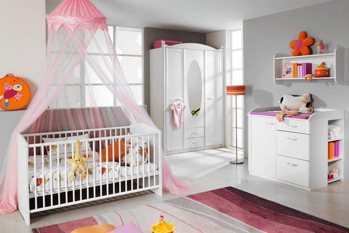 Baby Kleiderschrank | Lilly | 2 oder 3 türig mit Spiegel | T29