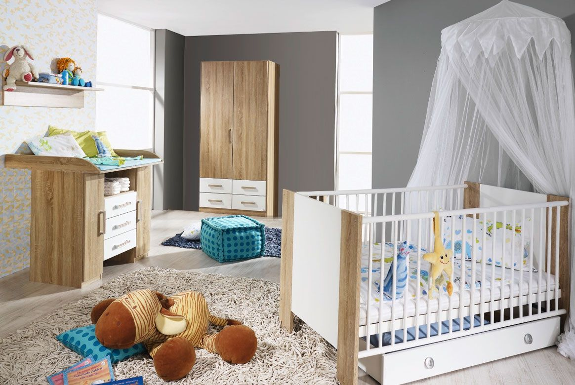 babyzimmer sparset g nstig samira komplett modern m01. Black Bedroom Furniture Sets. Home Design Ideas