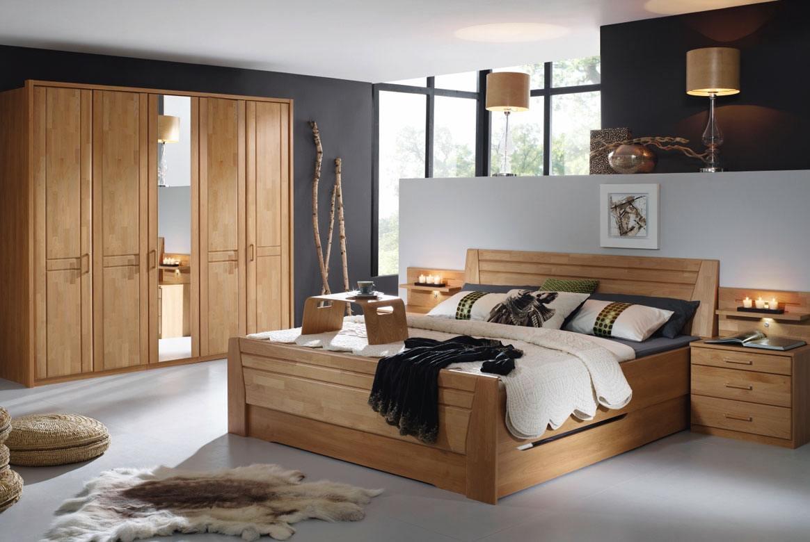 schlafzimmer komplett rauch sitara erle teilmassiv s44. Black Bedroom Furniture Sets. Home Design Ideas