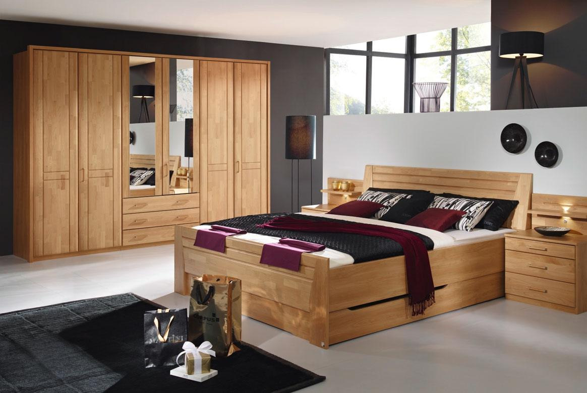schlafzimmer komplett rauch sitara erle wildeiche s83. Black Bedroom Furniture Sets. Home Design Ideas