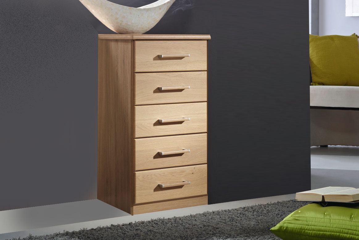 Abbildung Schlafzimmer Schubkastenkommode Erle teilmassiv Sitara | K30