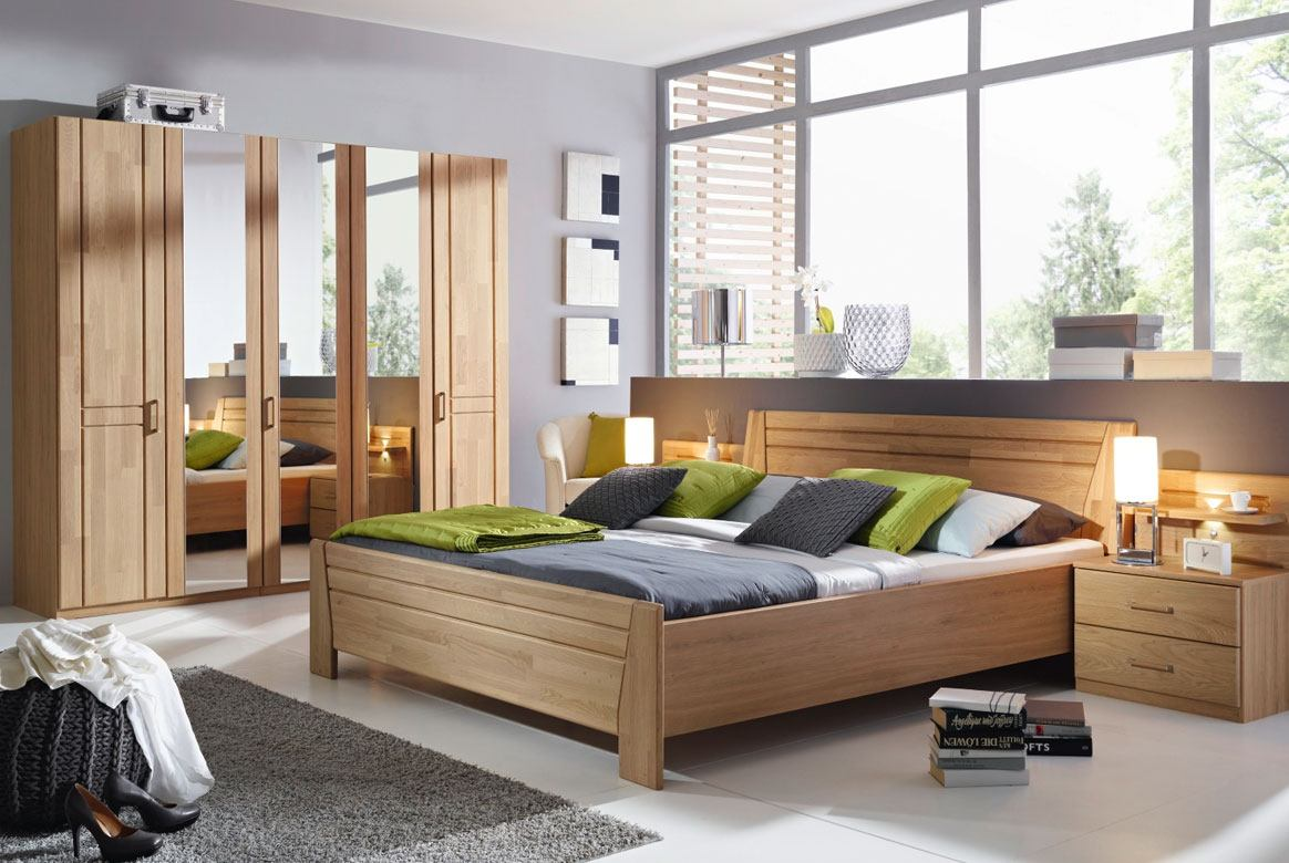schlafzimmer komplett rauch sitara wildeiche teilmassiv w72. Black Bedroom Furniture Sets. Home Design Ideas