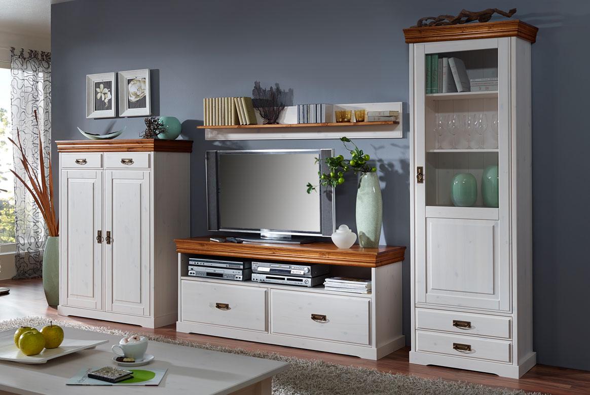 vitrine landhausstil wei rudolf kiefer massivholz t17. Black Bedroom Furniture Sets. Home Design Ideas