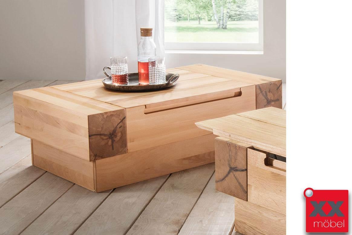 couchtisch kaffeetisch wohnzimmer tisch kernbuche wildeiche massiv roma ebay. Black Bedroom Furniture Sets. Home Design Ideas