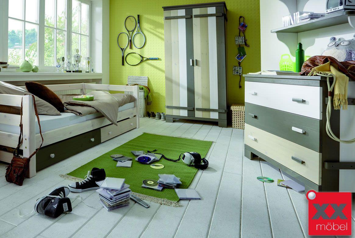 kinderzimmer massivholz merlin kiefer massiv multicolour m02. Black Bedroom Furniture Sets. Home Design Ideas
