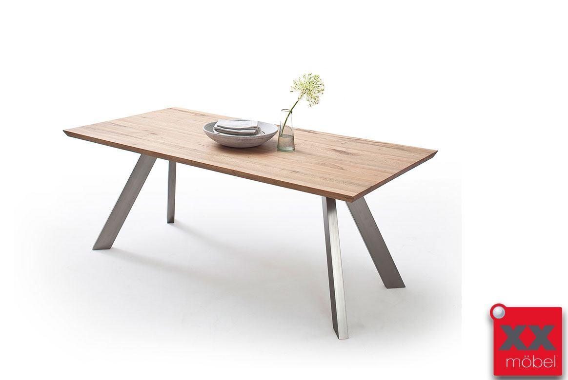 esstisch massivholz milton eiche oder wildeiche mi18. Black Bedroom Furniture Sets. Home Design Ideas