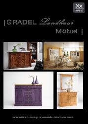 Produktübersicht Gradel Möbel.