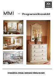 Produktübersicht MMI Möbel.